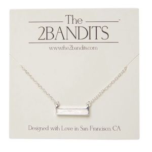 The 2Bandits Athens Iridescent Necklace